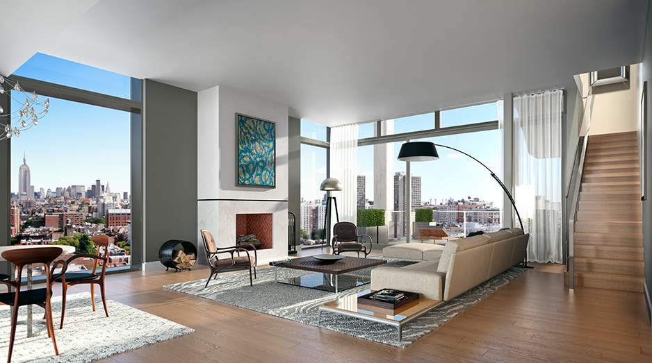 Unique & Spectacular Penthouses For Sale In Soho NYC | One
